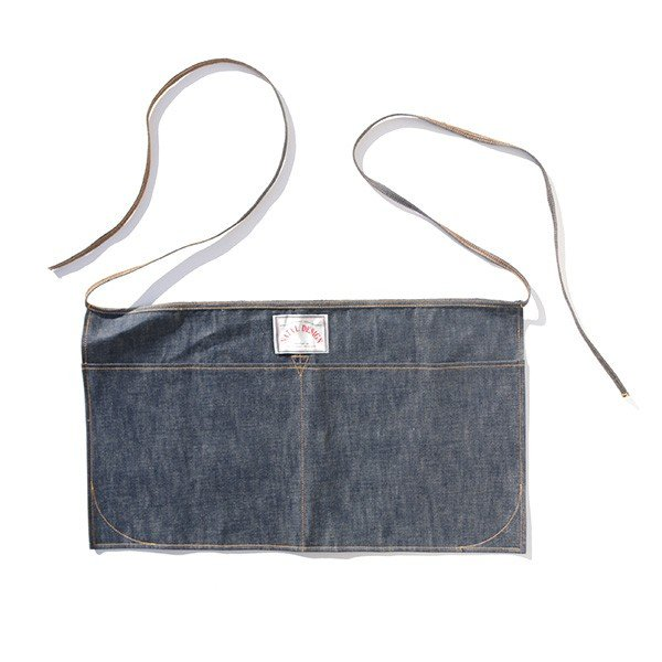 ネイタルデザイン NATAL DESIGN WAIST CLOTH DENIM ウエスト クロス 前掛け ポケット コットン vic2