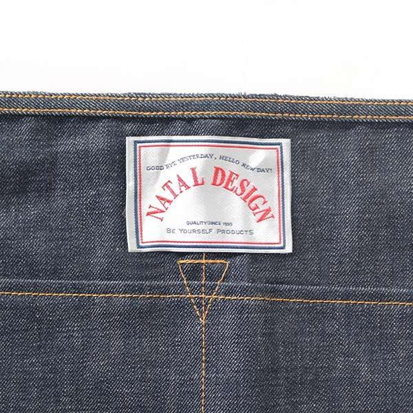 ネイタルデザイン NATAL DESIGN WAIST CLOTH DENIM ウエスト クロス 前掛け ポケット コットン vic2 02