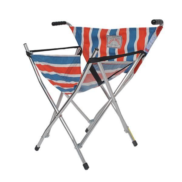 ネイタルデザイン NATAL DESIGN Out & About Chair RETRO STRIPE アウト アバウト ガダバウト チェア 折りたたみ イス 別注 コラボ|vic2