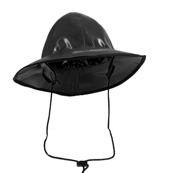 オルトリーブORTLIEBレインハットブラック帽子ハット防水
