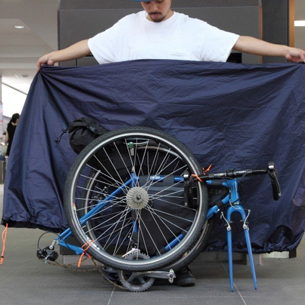 フェアウェザー FAIRWEATHER bike carry bag navy バイクキャリーバッグ 輪行バック vic2 03