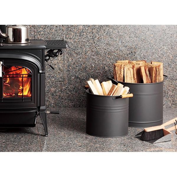 ファイヤーサイド Fireside ラウンドウッドストッカー(大) Round Wood Stocker