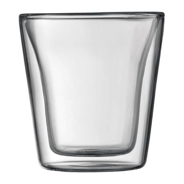 ボダム bodum ボダム キャンティーン ダブルウォールグラス 0.1L (2個セット)|vic2