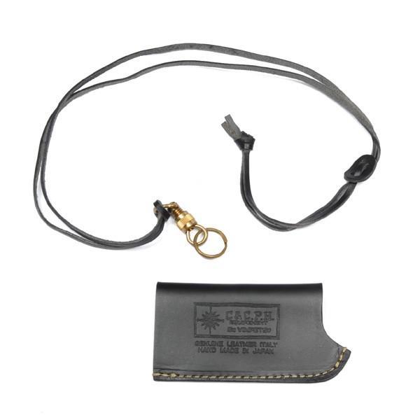シー&シーピーエイチイクイップメント C&C.P.H EQUIPEMENT SOTO ガスライターケース BLACK