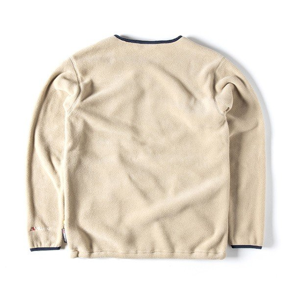 グリップスワニー Grip Swany Polartec Camp Pocket Fleece Crew Beige GSC-30|vic2|03