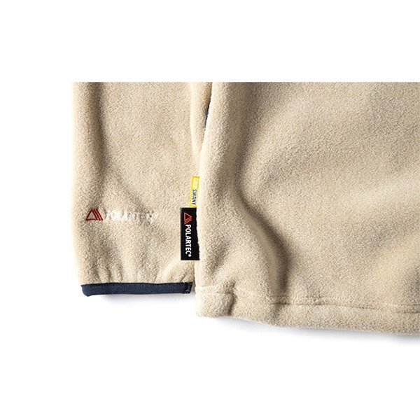 グリップスワニー Grip Swany Polartec Camp Pocket Fleece Crew Beige GSC-30|vic2|06
