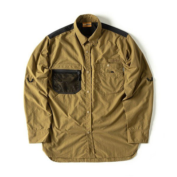 グリップスワニー Grip Swany Gear Shirt Coyote GSS-28|vic2