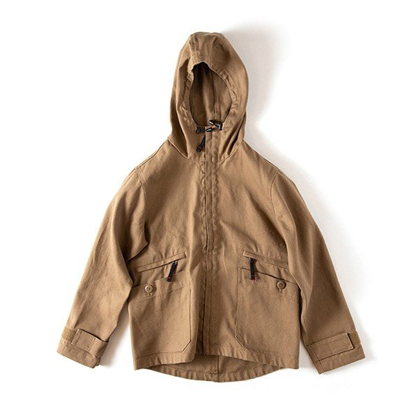 グリップスワニー Grip Swany Fireproof Camp Parka Coyote GSJ-51|vic2