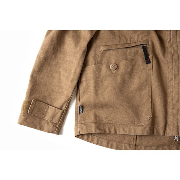 グリップスワニー Grip Swany Fireproof Camp Parka Coyote GSJ-51|vic2|06