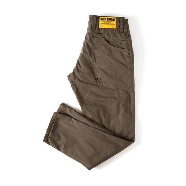 グリップスワニー Grip Swany Flannel Lining Pants Olive GSP-62|vic2|03