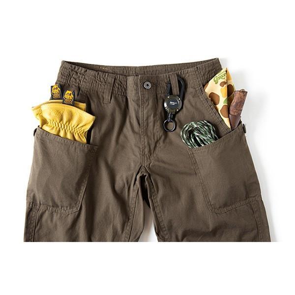 グリップスワニー Grip Swany Flannel Lining Pants Olive GSP-62|vic2|04