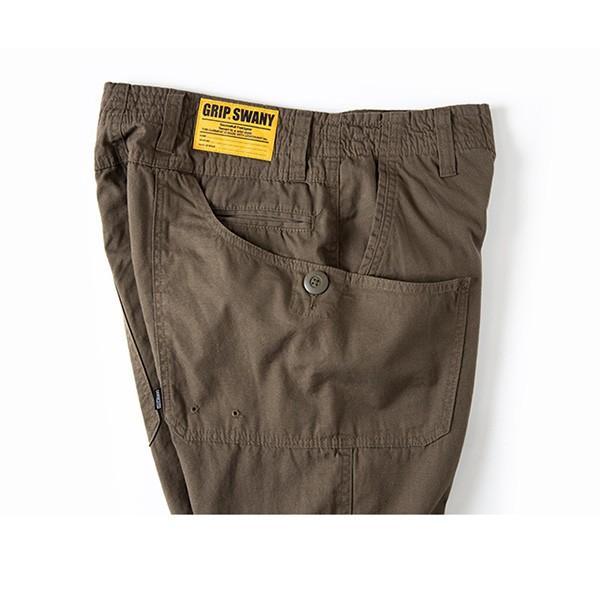 グリップスワニー Grip Swany Flannel Lining Pants Olive GSP-62|vic2|07