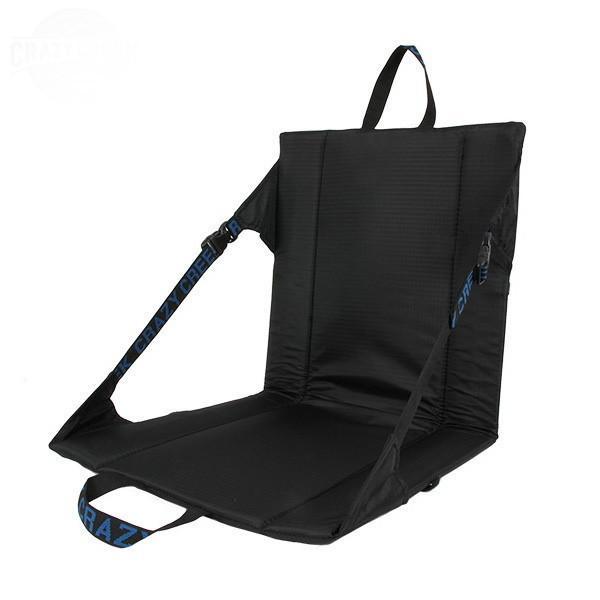 クレイジークリーク Crazy Creek オリジナルチェア ブラック キャリーチェア 座イス 座椅子 ファニチャー マット|vic2