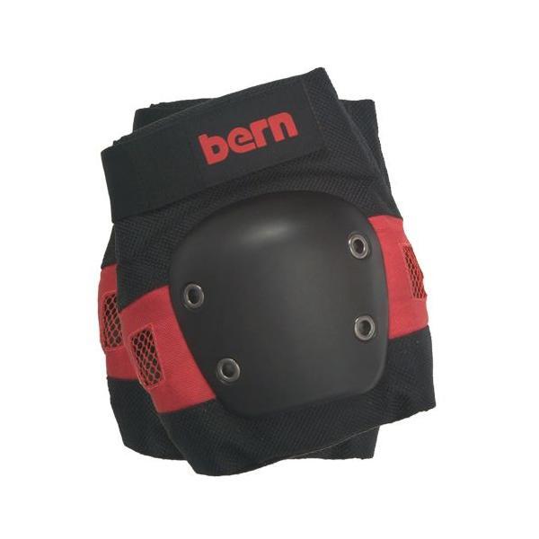 バーン Bern JUNIOR SKATE PAD SET Red FREE スケートパッドセット レッド パッド プロテクター3点セット フリーサイズ vic2 02
