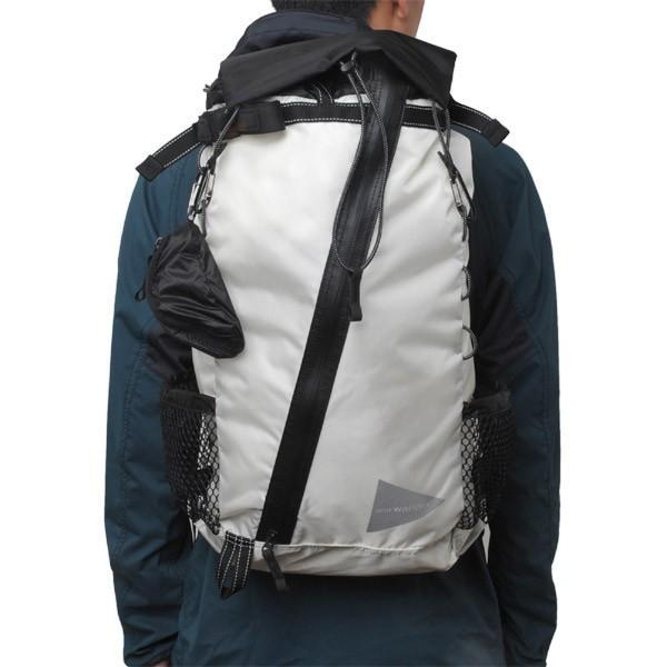 d8d5afd89c9d アンドワンダー and wander バックパック 30L backpack white ホワイト アウトドア ザック リュック|vic2 ...