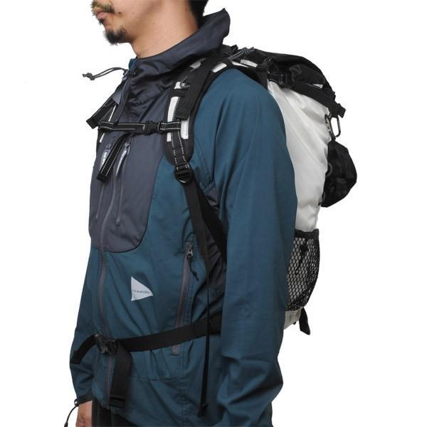 c4baeaa4c061 ... アンドワンダー and wander バックパック 30L backpack white ホワイト アウトドア ザック リュック|vic2|  ...