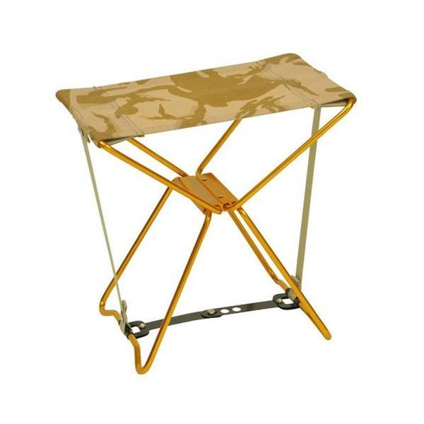 アディロンダック ADIRONDACK マイクロチェア ゴールドフレーム BRITISHデザートカモ 折り畳みイス 椅子 収納バッグ付き キャンプ|vic2