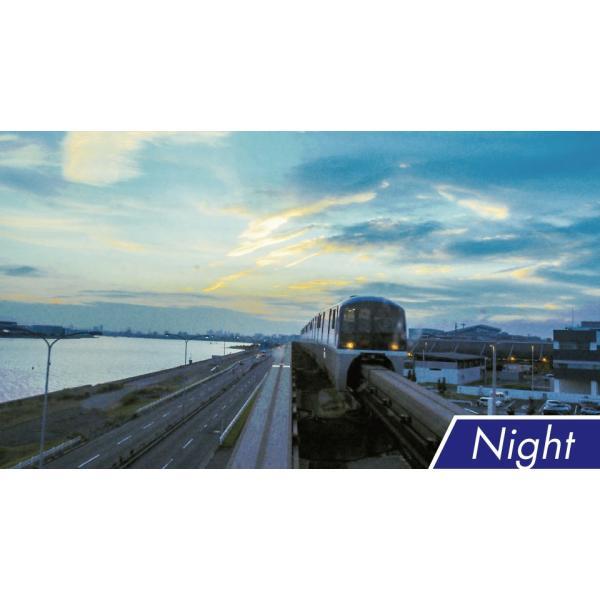 東京モノレール 全線2往復 ≪デイ&ナイト≫ 4K撮影作品 ブルーレイ 電車|vicom-store|04