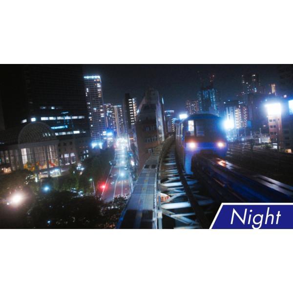 東京モノレール 全線2往復 ≪デイ&ナイト≫ 4K撮影作品 ブルーレイ 電車|vicom-store|05