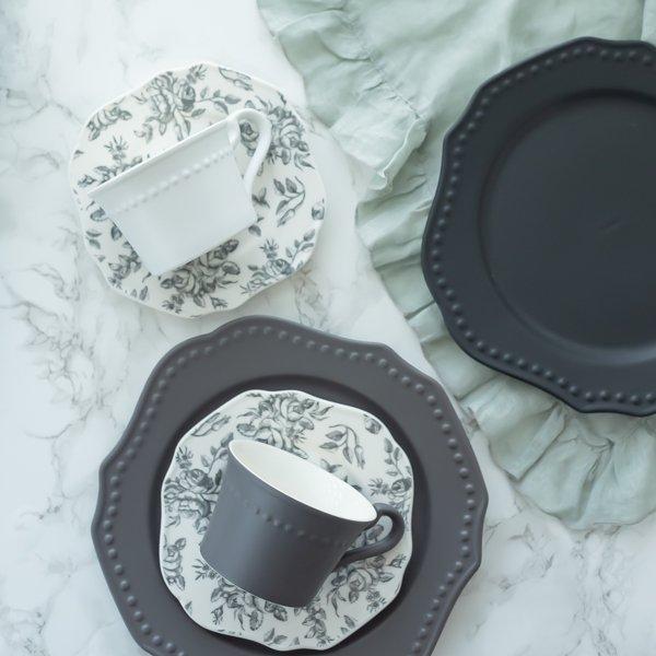 洋食器 ギフト 2020 アフタヌーンティーセット カップ ソーサー ティースプーン セット プレート 皿 おしゃれ プレゼント