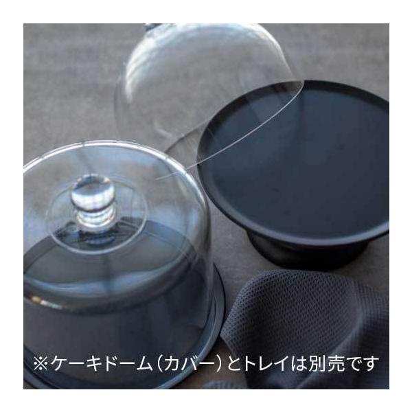 ケーキトレー ケーキトレイ 黒 テーブルウェア カフェ風 おしゃれ モダンブラックトレイS