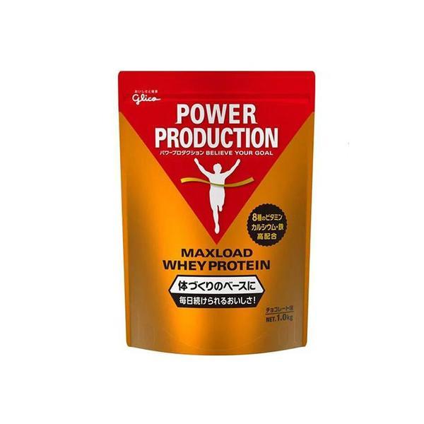 グリコ(glico) マックスロード ホエイプロテイン パウダー チョコレート風味 1kg  (メンズ、レディース)