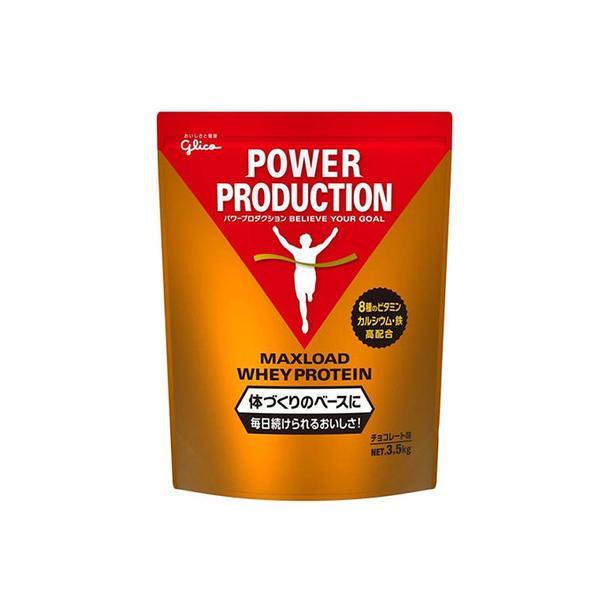 グリコ(glico) マックスロード ホエイプロテイン チョコレート風味 G76014 3.5kg (メンズ、レディース)