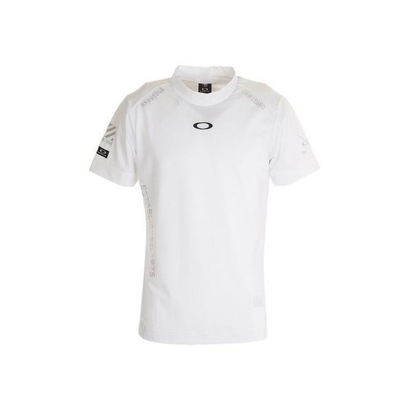 オークリー(OAKLEY)ゴルフシャツメンズSHADEEMBモックネックシャツFOA401465-100(メンズ)