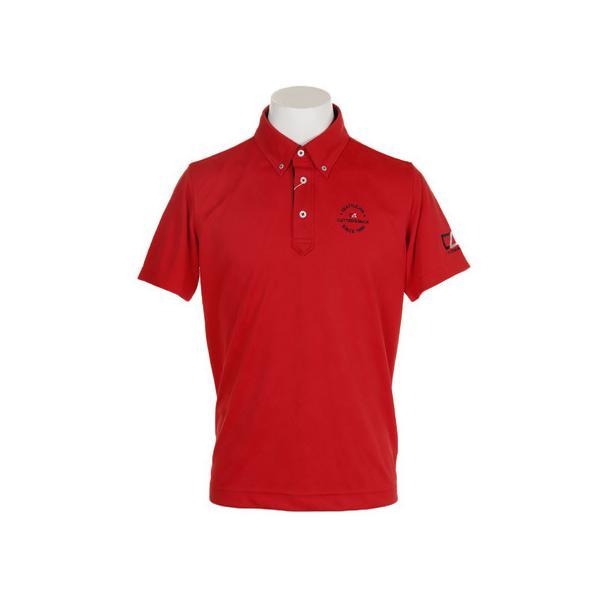 カッターアンドバック(CUTTER&BUCK) ゴルフウェア メンズ 地柄半袖シャツ CGMNJA13-RD00 (メンズ)