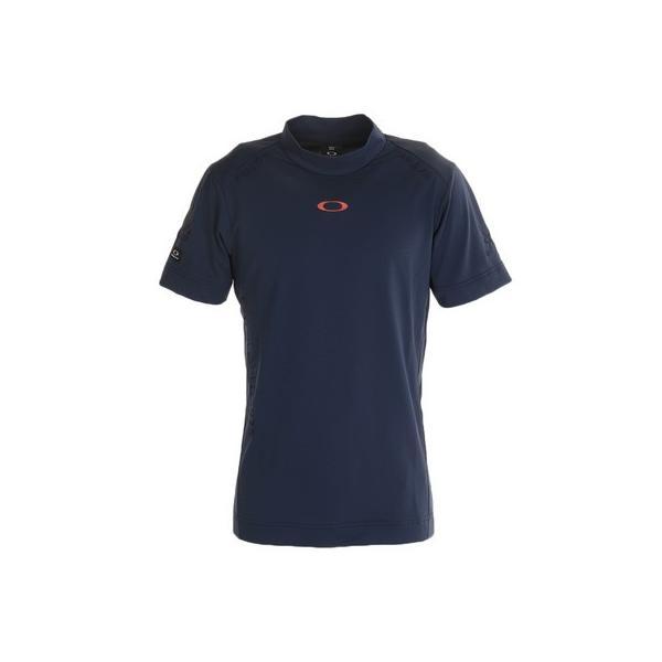 オークリー(OAKLEY)ゴルフシャツメンズSHADEEMBモックネックシャツFOA401465-60B(メンズ)