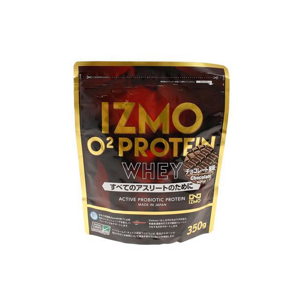 イズモ(IZMO) O2 プロテイン ホエイ100 乳酸菌 マルチビタミン配合 チョコレート風味 350g 約18食入 (メンズ、レディース)