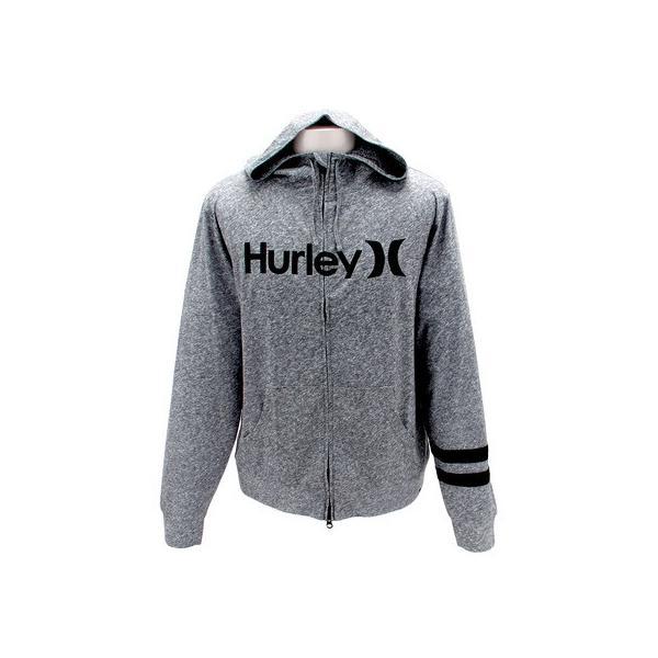 ハーレー(HURLEY) ラッシュガードパーカー O&O MKHZLY84-HTG (Men's)