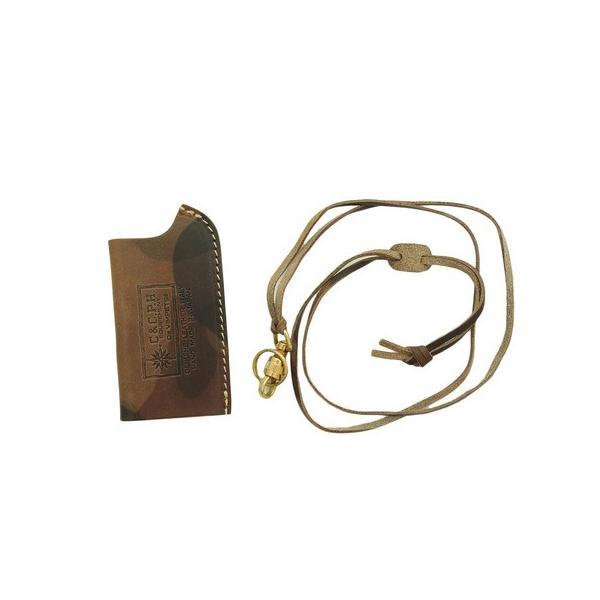 シーアンドシー.ピー.エイチ(C&C.P.H) SOTO ガスライター CASE CPH16046 CMOGY (メンズ、レディース)