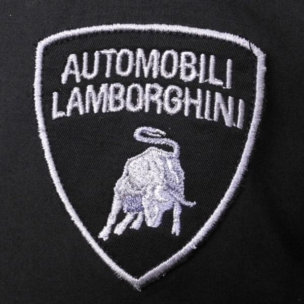 ランボルギーニ メンズ Pilota Ufficiale シャツ ブラック 9010173CCB000 victorylap 03