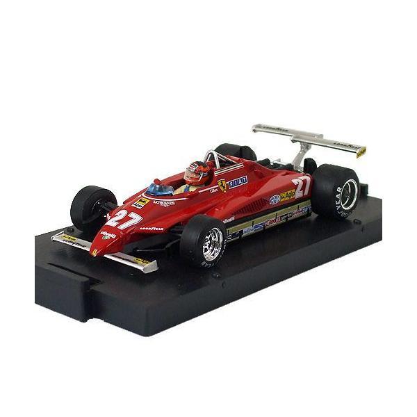 brumm 1/43スケール フェラーリ 126C2 #27 G.ヴィルヌーヴ 1982 ロングビーチGP R272-27|victorylap