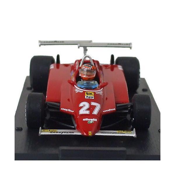brumm 1/43スケール フェラーリ 126C2 #27 G.ヴィルヌーヴ 1982 ロングビーチGP R272-27|victorylap|02