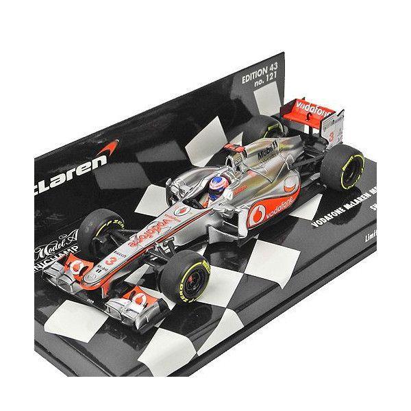 MINICHAMPS 1/43スケール ボーダフォン マクラーレン メルセデス J.バトン 2012 ショーカー 530124373|victorylap