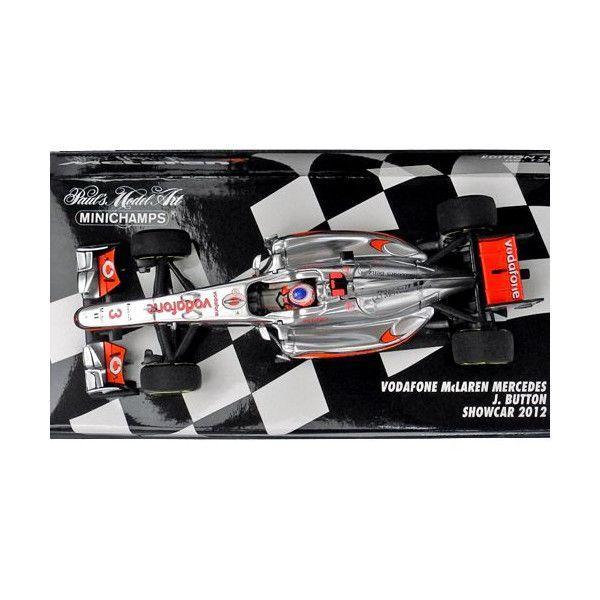 MINICHAMPS 1/43スケール ボーダフォン マクラーレン メルセデス J.バトン 2012 ショーカー 530124373|victorylap|02