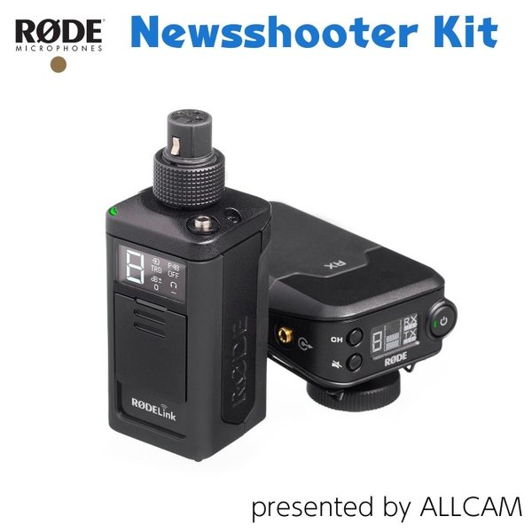 RODE ロード Newsshooter Kit ニュースシューターキット ワイヤレスキット XLR端子搭載 マイク RODELINKNS
