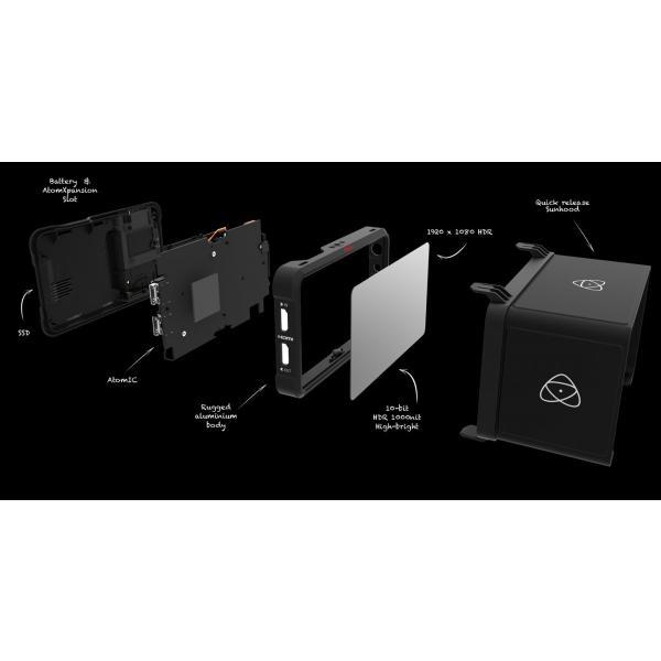 ATOMOS アトモス 4K対応SSDレコーダー NINJA V ATOMNJAV01 モニターレコーダー ニンジャ