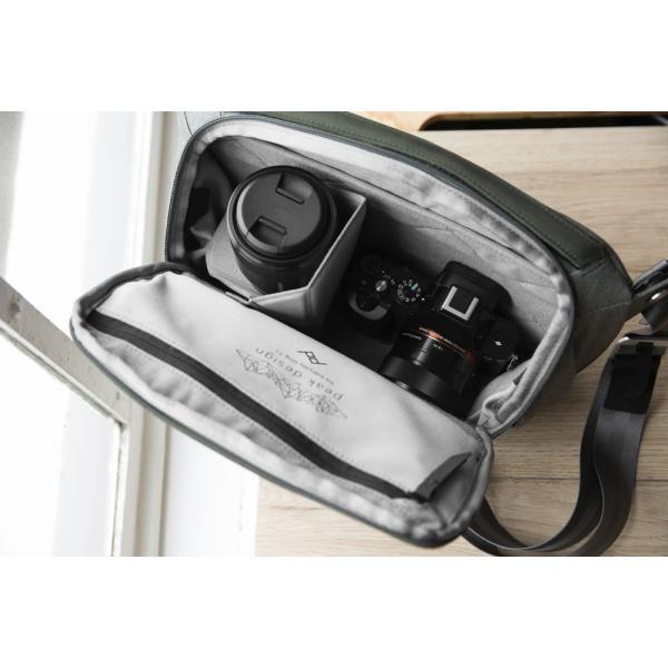 ピークデザイン スリング ショルダー ウエストポーチ カメラバッグ セージ BSL-5-SG-1 エブリデイスリング PEAK DESIGN 特典あり videoallcam 16