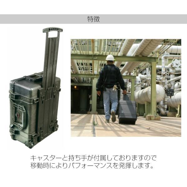 PELICAN ペリカン 1564HK ブラック 業務用 大型カメラケース ディバイダータイプ キャリーハンドル キャスター 移動 プロテクトケース