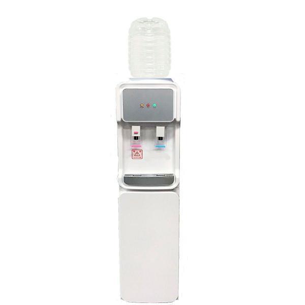 ウォーターサーバー据置型 GD-501 ホワイト  専用8リットルPETボトル2本つき