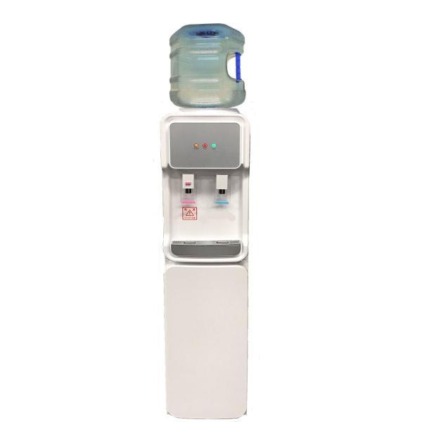 ウォーターサーバー据置型 GD-501 ホワイト  専用12リットルポリカーボネートボトル1本つき