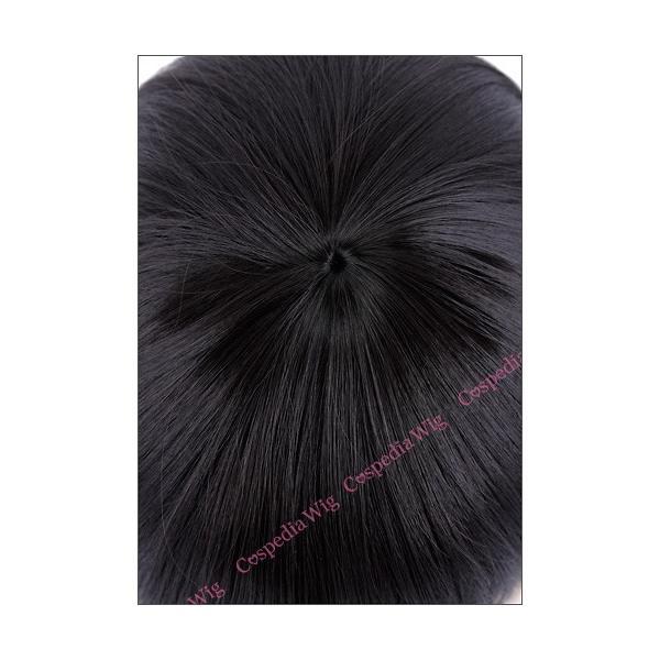 【即納】シルキーミディアム ブルーブラック コスプレウィッグ フルウィッグ ウィッグネット付き カラーウィッグ ウィッグ 耐熱