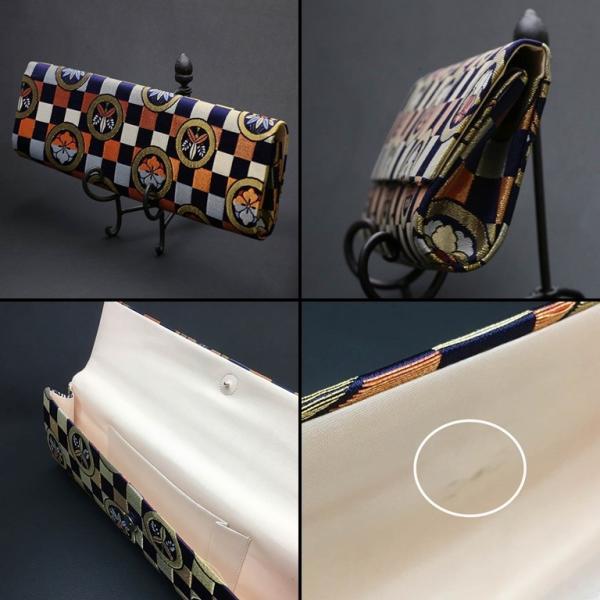 昭和レトロ 和装 クラッチバッグ 抱えバッグ (438)|vintagecamp|03