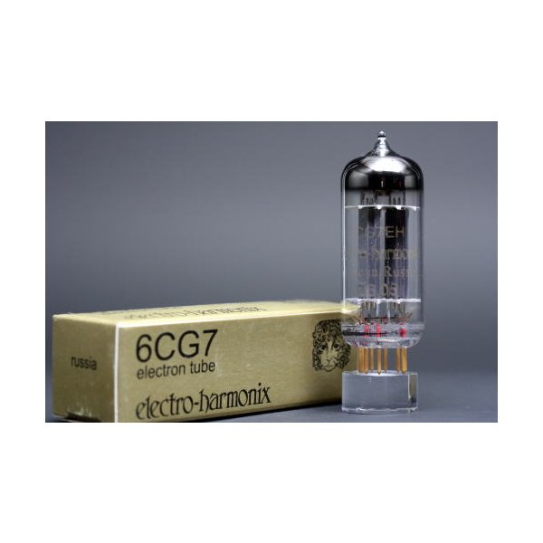 6CG7/6FQ7 EHゴールド 4本マッチ 低ゲイン 真空管HG11 【送料無料】