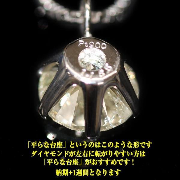ダイアモンド ペンダント ネックレス レディース 一粒 K18 1ct|virgindiamond|07