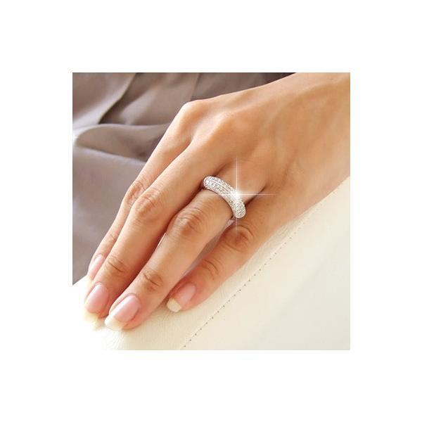 送料無料 ダイヤモンド1.0ct×K18WG ホワイトゴールド パヴェリング・指輪 天然ダイヤモンド レディース|virgindiamond|03