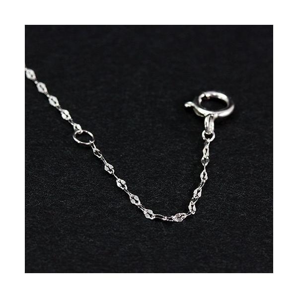 送料無料 工房独自のネックレスが好評 天然ダイヤモンド 計約0.11ct 4フラワー ペンダント ネックレス K18WG(18金ホワイトゴールド)レディース|virgindiamond|04